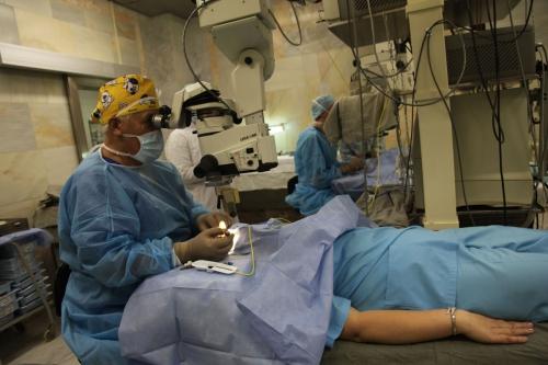 Операция на глаза лазером клиника федорова
